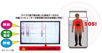 非接触バイタル生体センサーの機能・性能